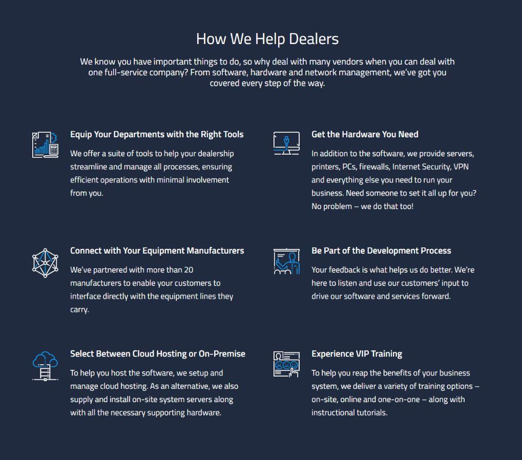 DIS Helping Dealers